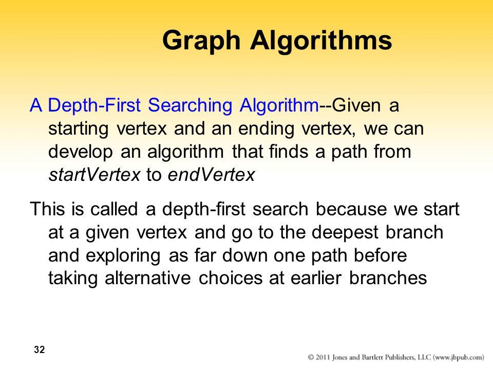 Graph Algorithms
