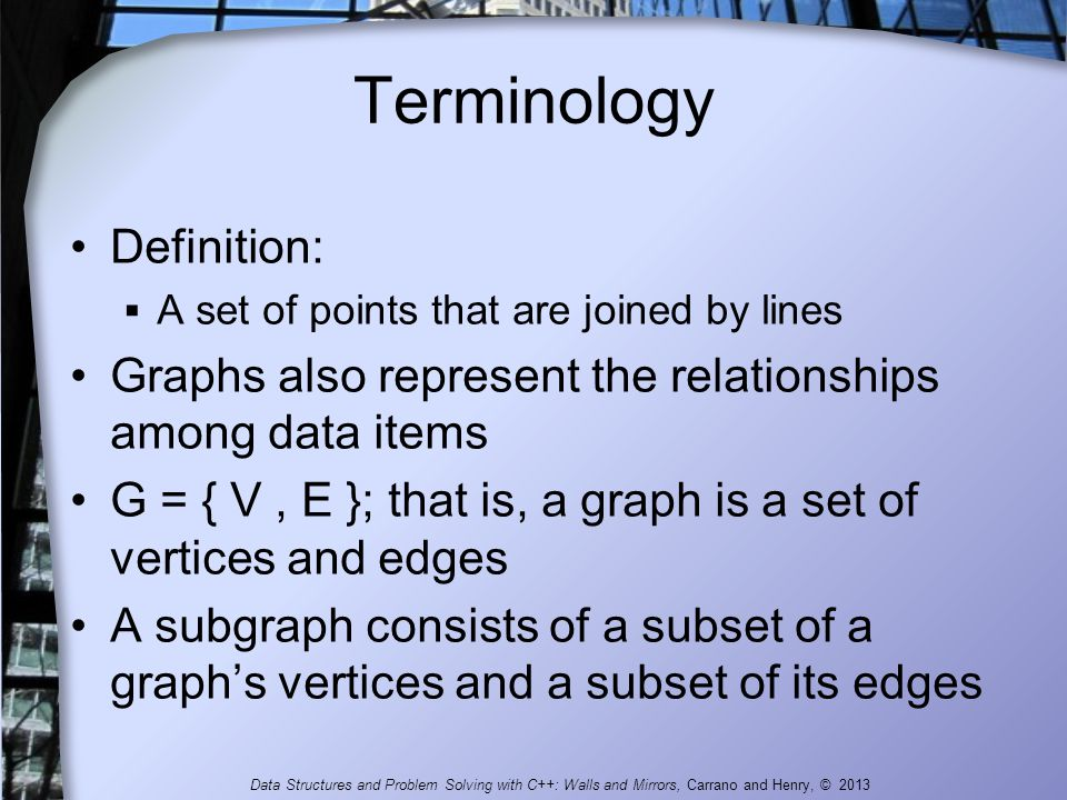 Terminology Definition: