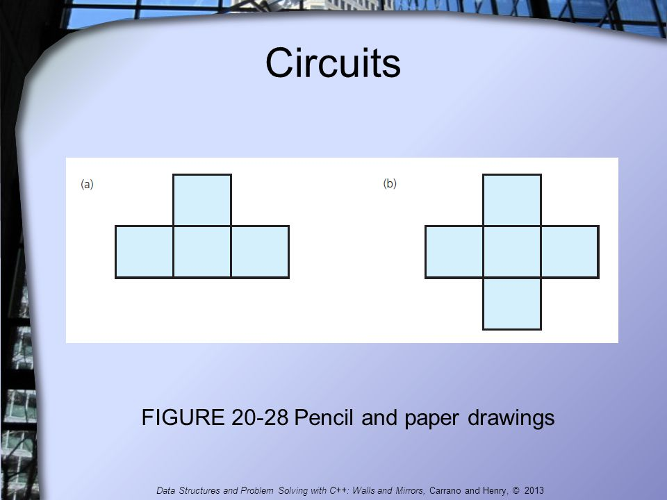 FIGURE 20-28 Pencil and paper drawings