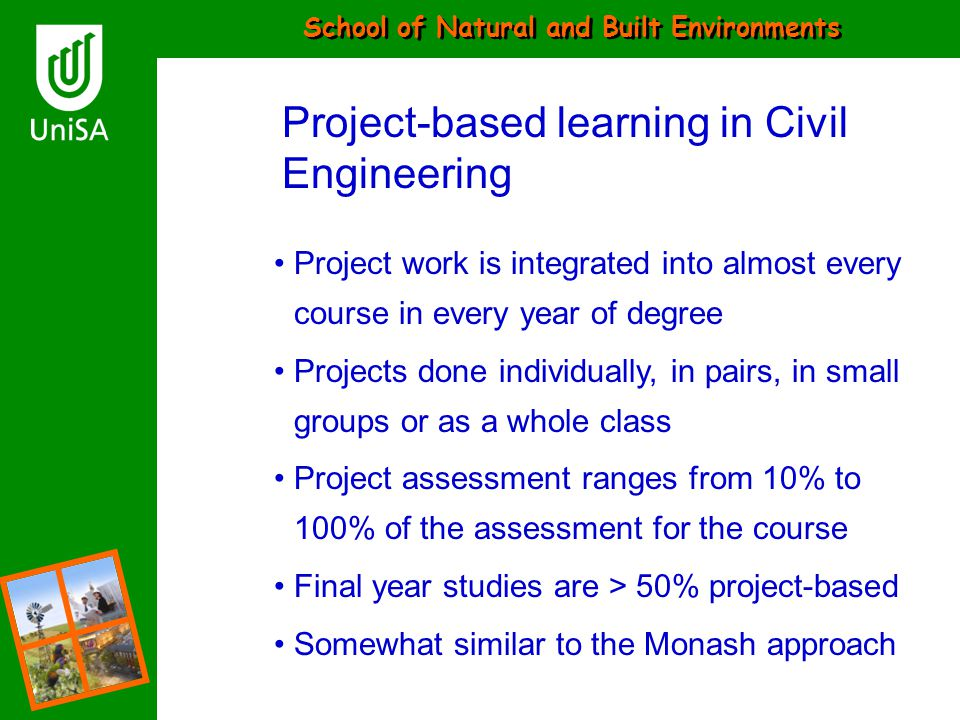 Project-based learning in Civil Engineering