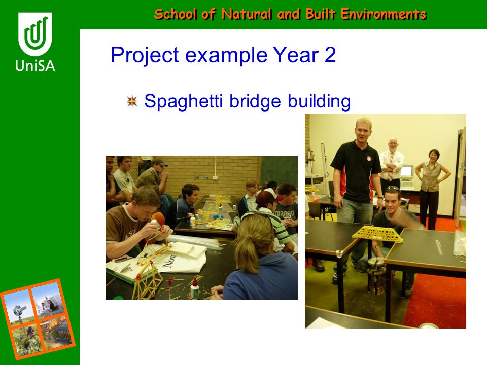 Project example Year 2 Spaghetti bridge building