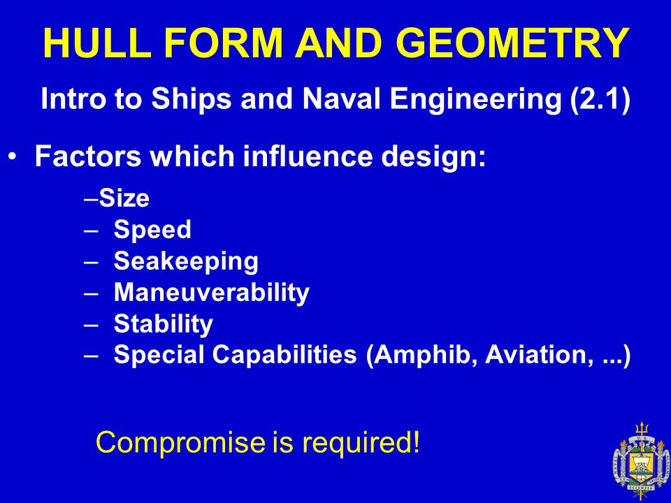 Intro to Ships and Naval Engineering (2.1)