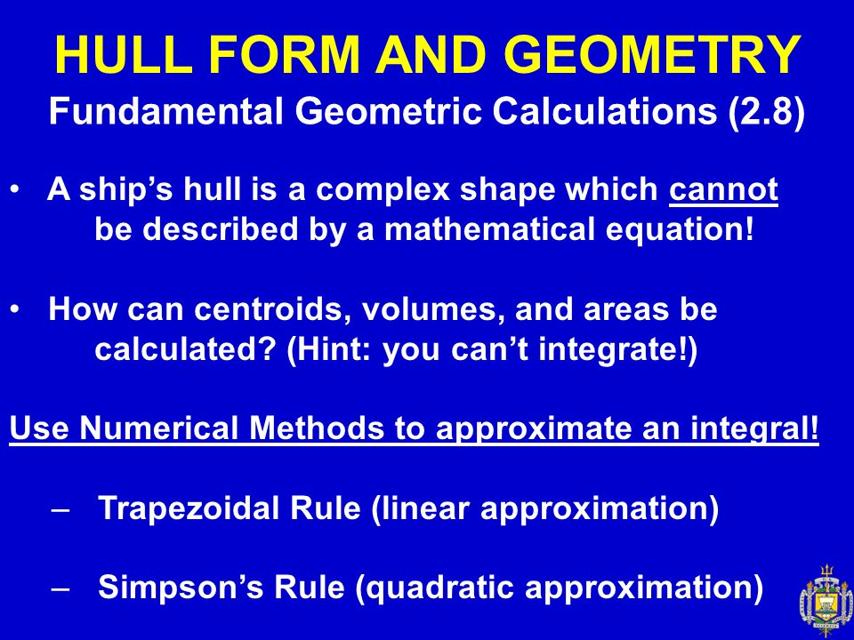 Fundamental Geometric Calculations (2.8)