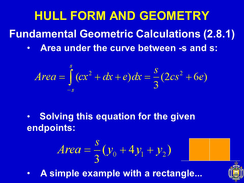 Fundamental Geometric Calculations (2.8.1)