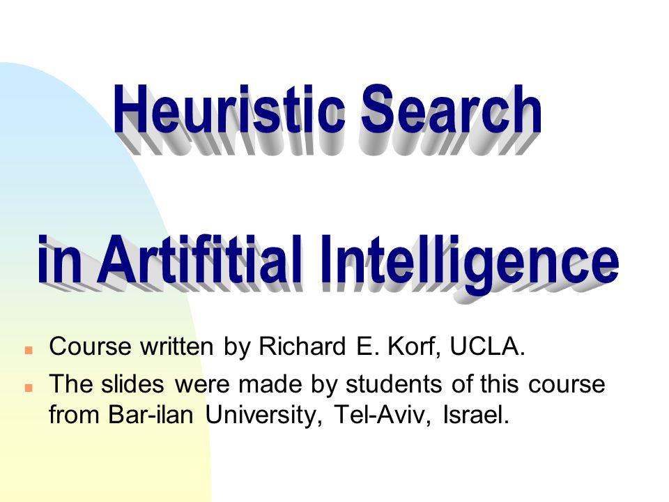 in Artifitial Intelligence