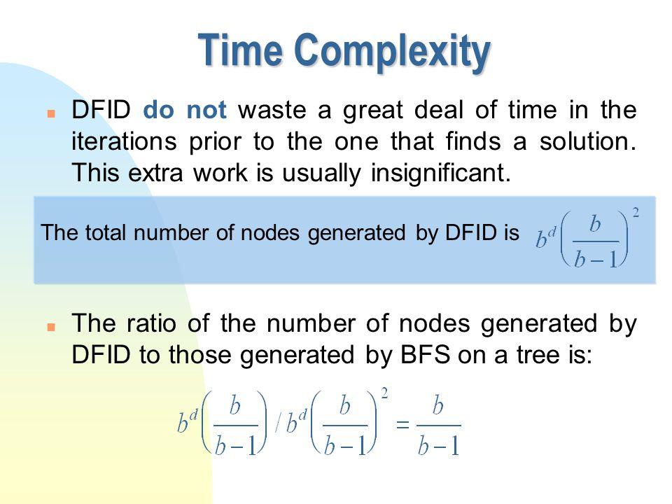 י ט/ניסן/תשע ז Time Complexity.