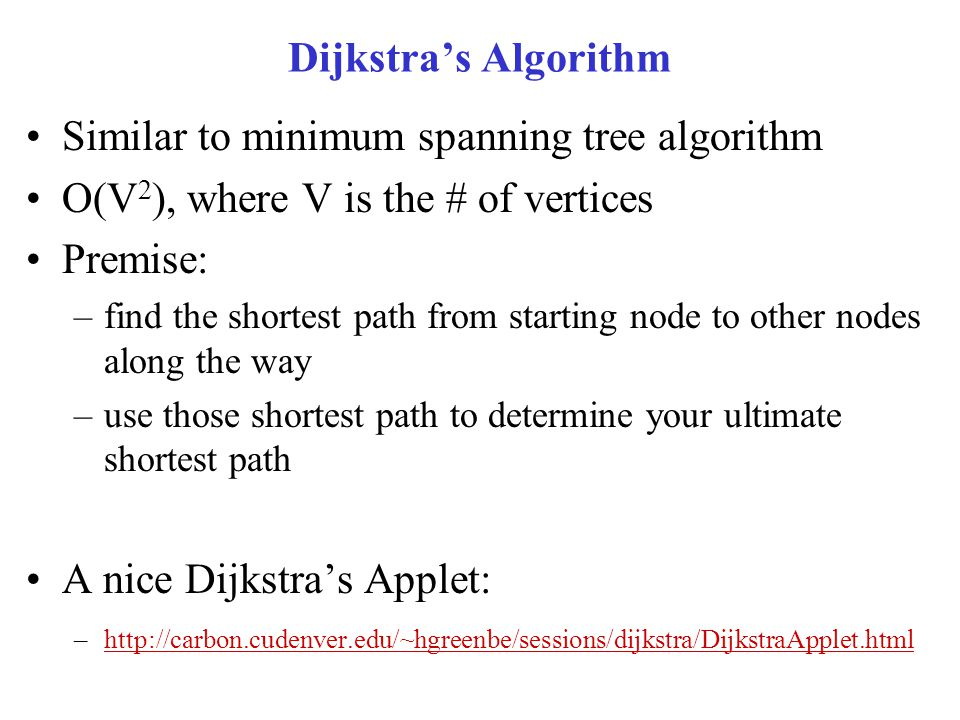 Similar to minimum spanning tree algorithm