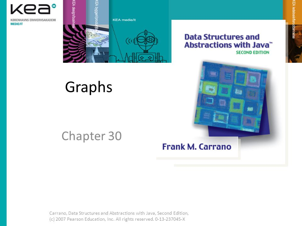 Graphs Chapter 30.