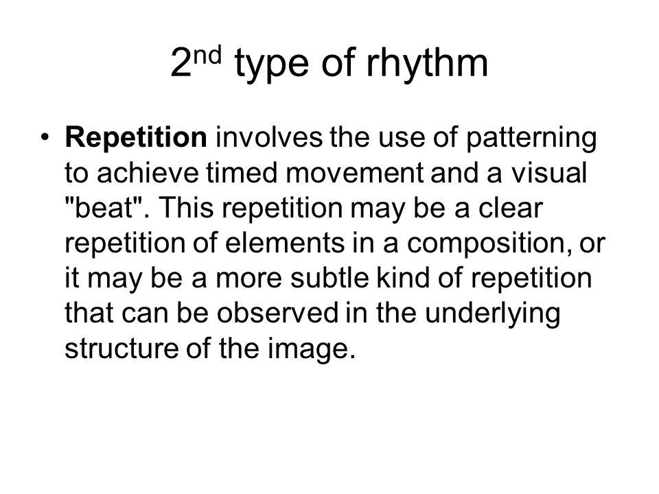 2nd type of rhythm