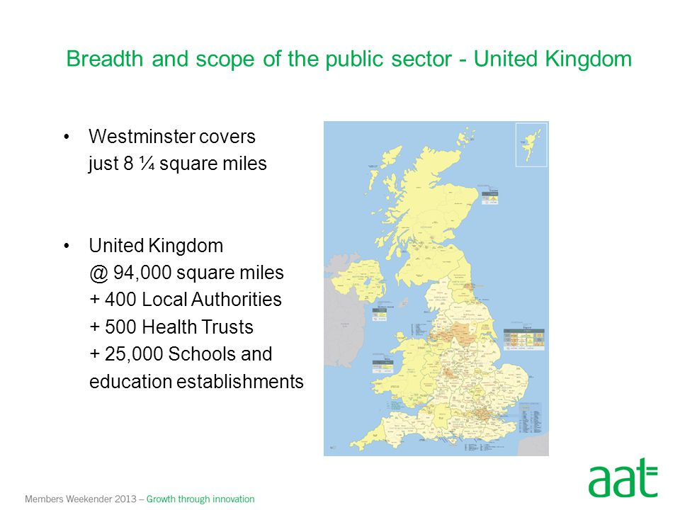 Breadth and scope of the public sector - United Kingdom
