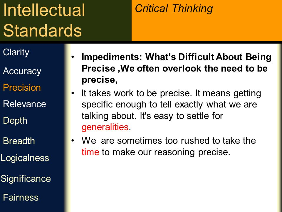 Clarity Impediments: What s Difficult About Being Precise ,We often overlook the need to be precise,