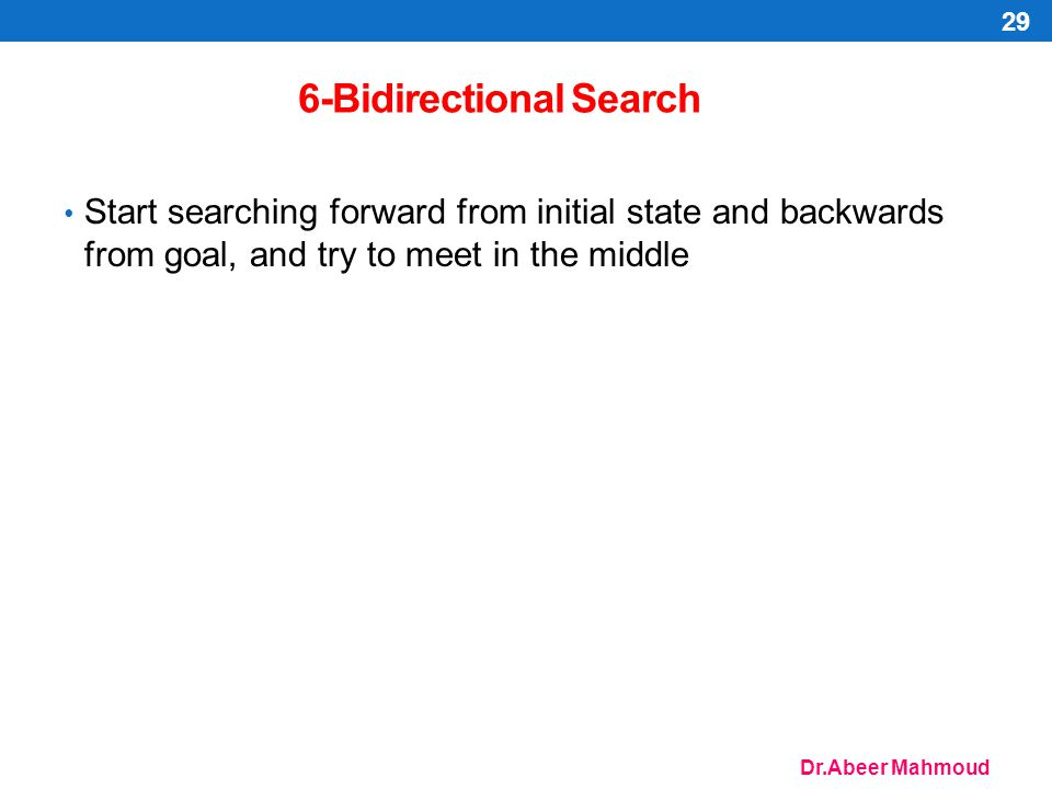 6-Bidirectional Search