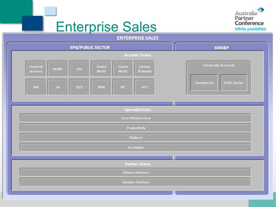 Enterprise Sales ENTERPRISE SALES EPG/PUBLIC SECTOR SMS&P Mark