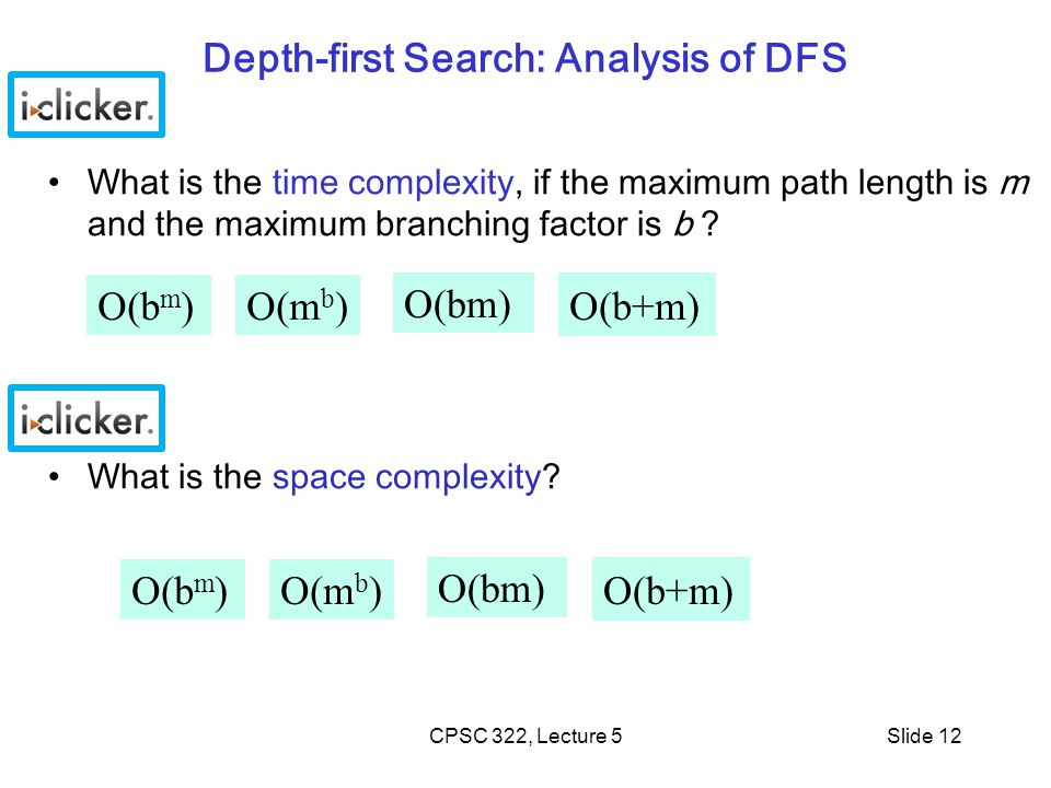 Depth-first Search: Analysis of DFS