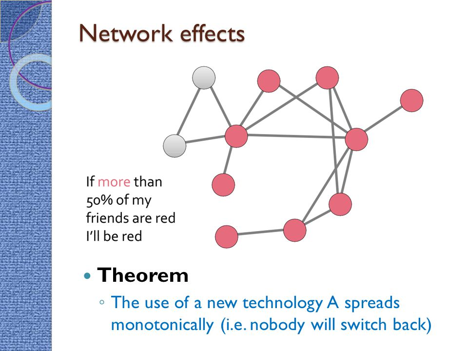 Network effects Theorem