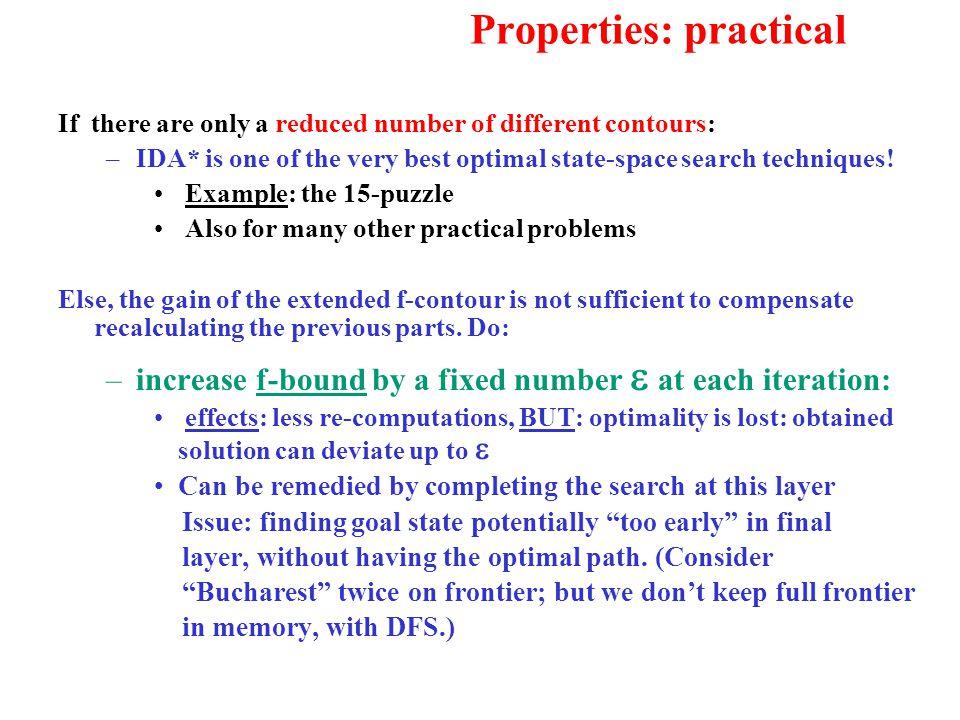 Properties: practical