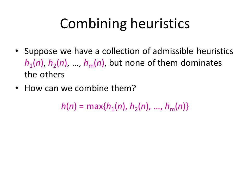h(n) = max{h1(n), h2(n), …, hm(n)}