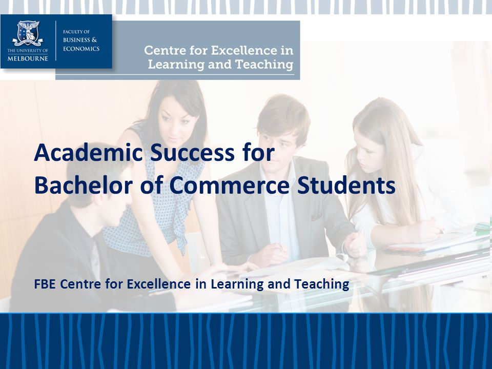 Bachelor of Commerce Students