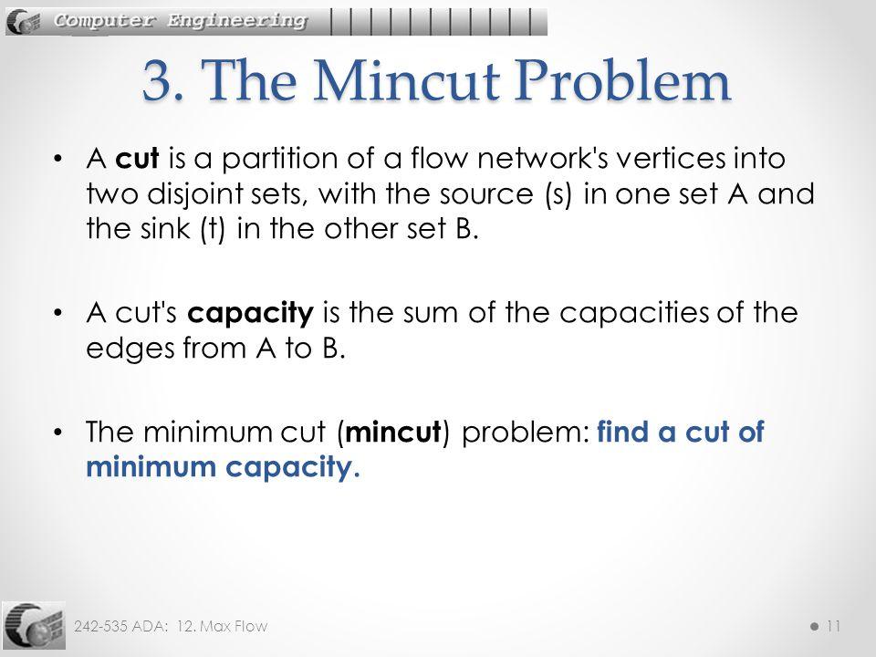 3. The Mincut Problem