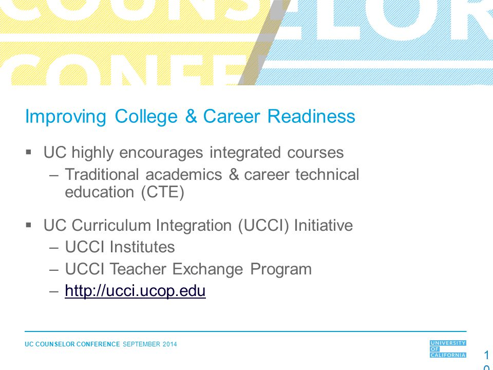 Improving College & Career Readiness