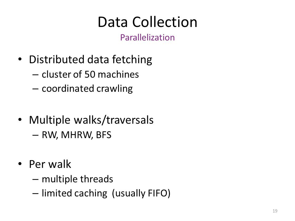 Data Collection Parallelization