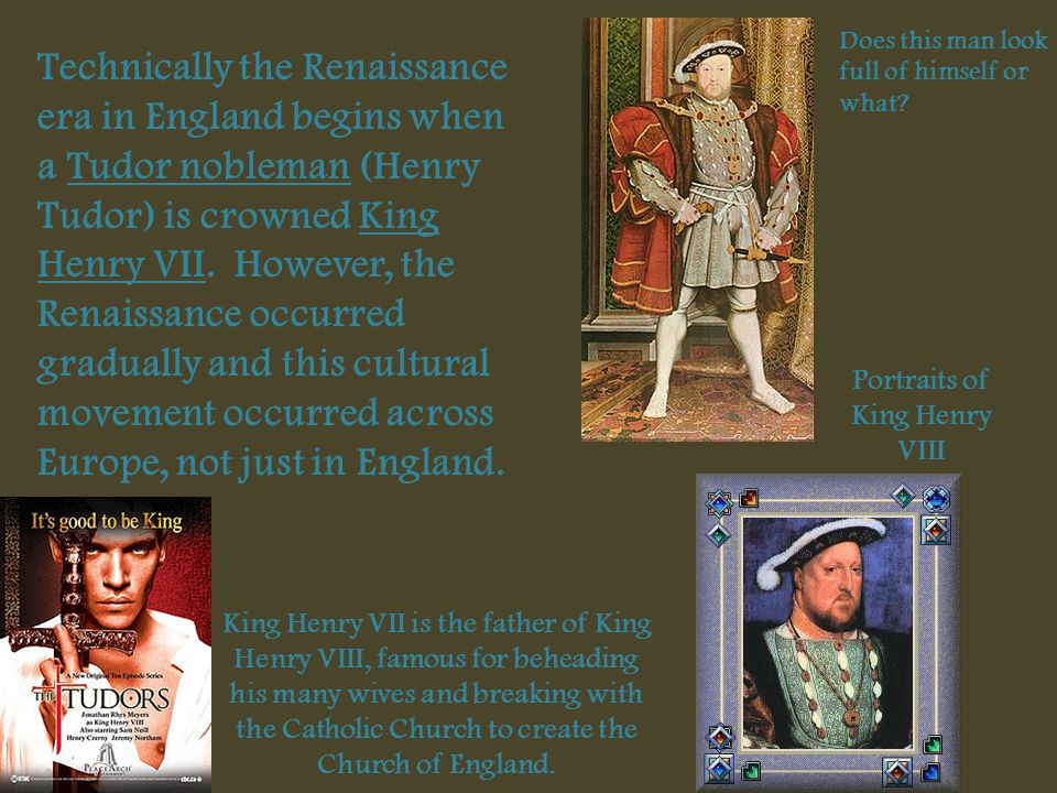Portraits of King Henry VIII