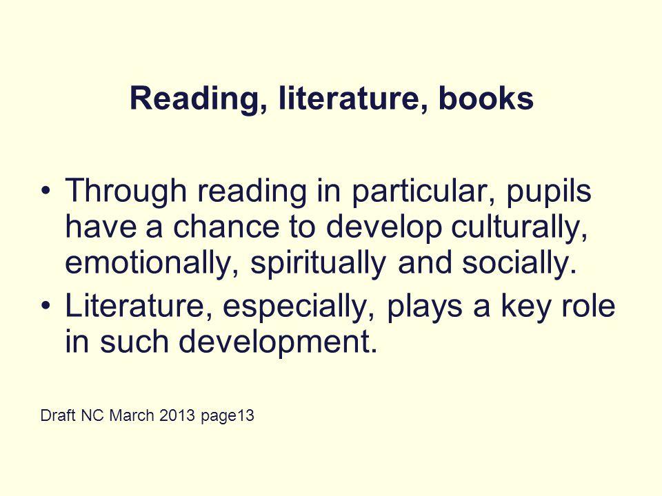 Reading, literature, books