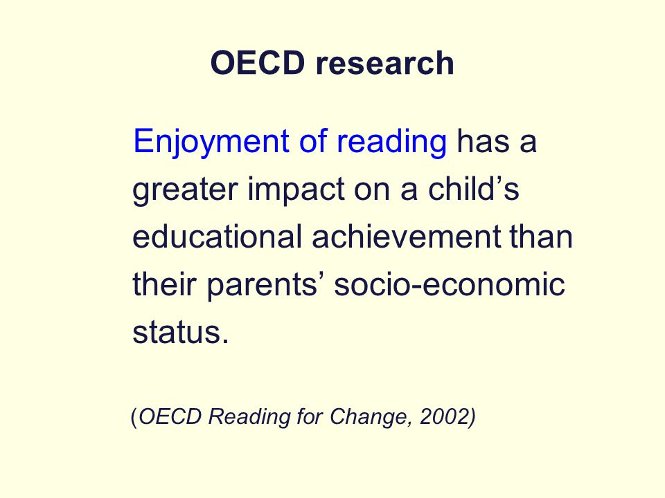 greater impact on a child's educational achievement than