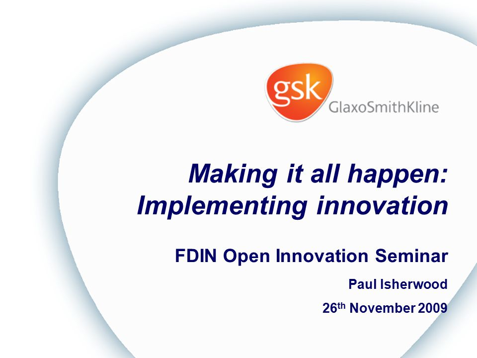 Making it all happen: Implementing innovation