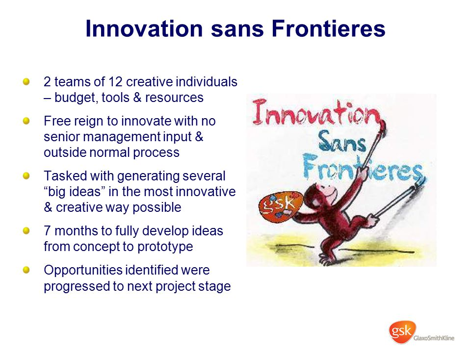 Innovation sans Frontieres