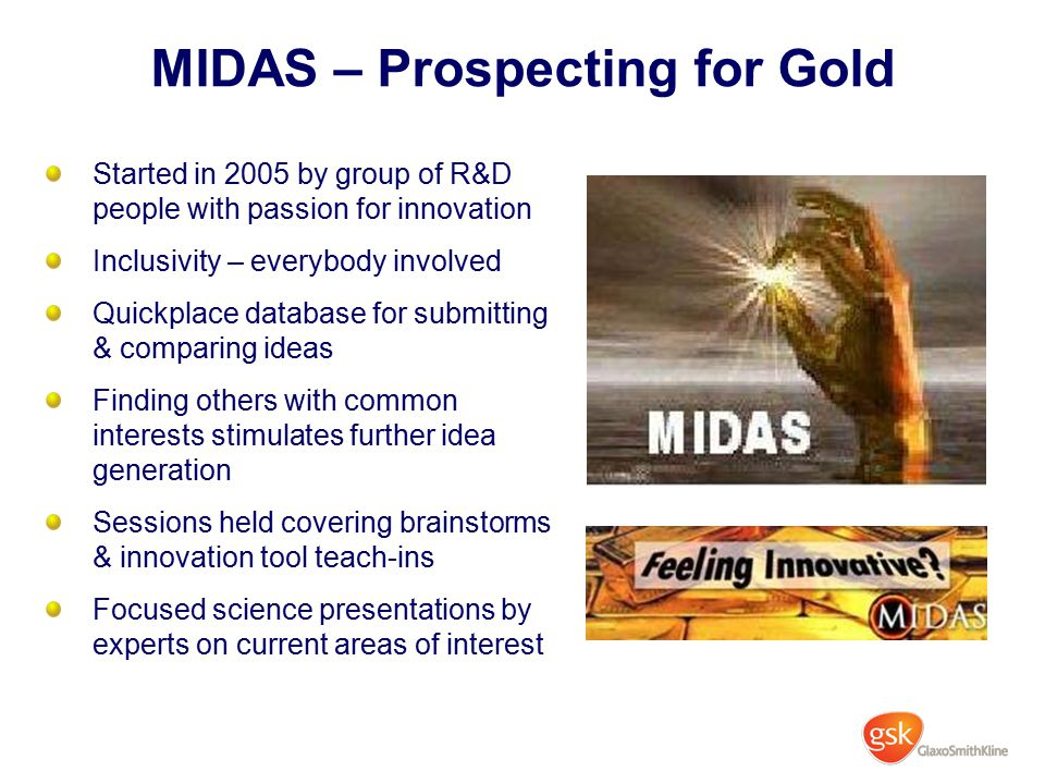 MIDAS – Prospecting for Gold