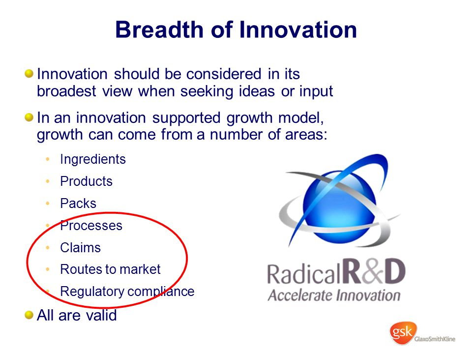 gsk successful internal innovation