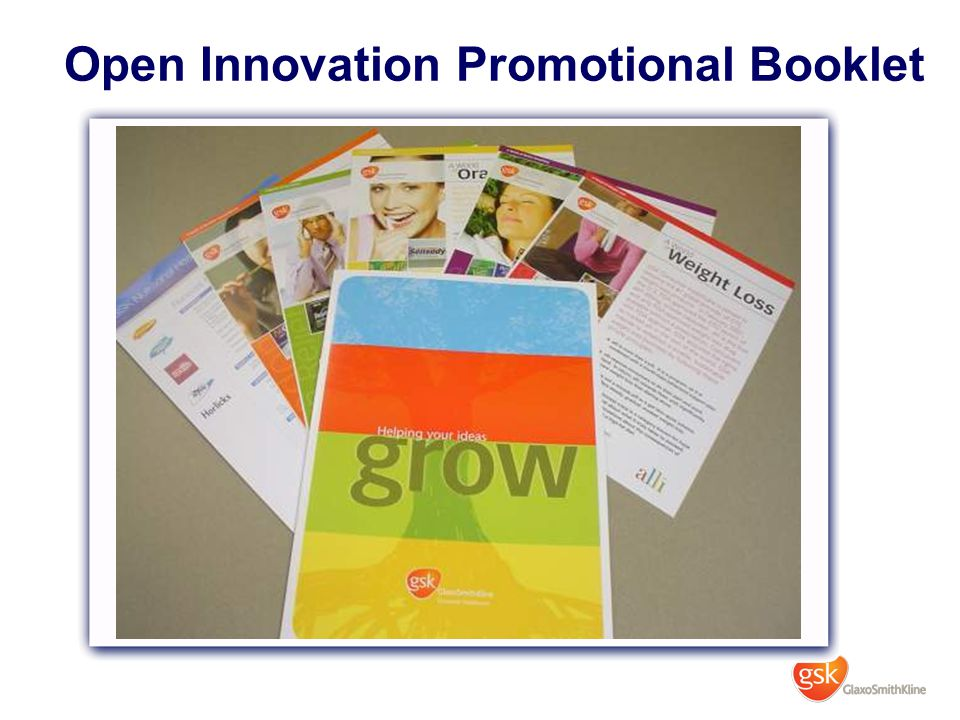 Open Innovation Promotional Booklet