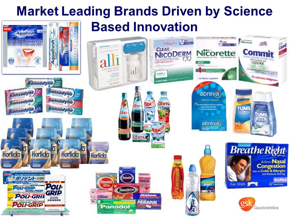 Market Leading Brands Driven by Science Based Innovation