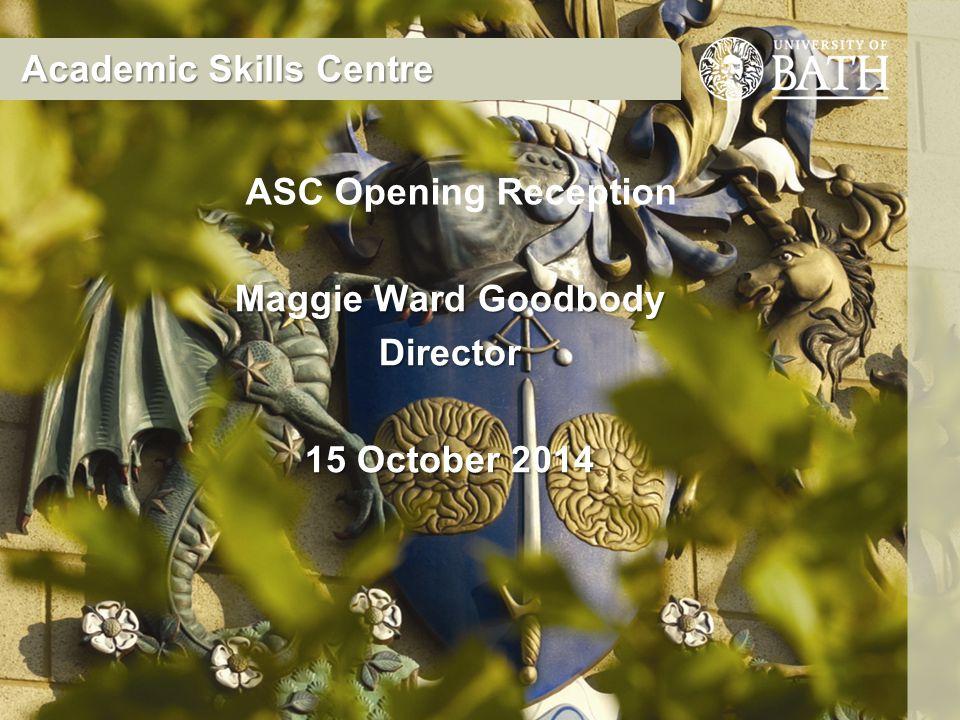 Maggie Ward Goodbody Director 15 October 2014