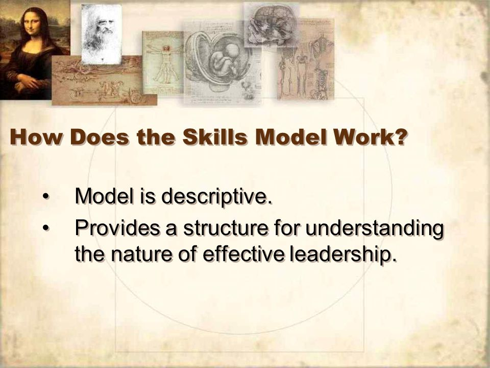 How Does the Skills Model Work