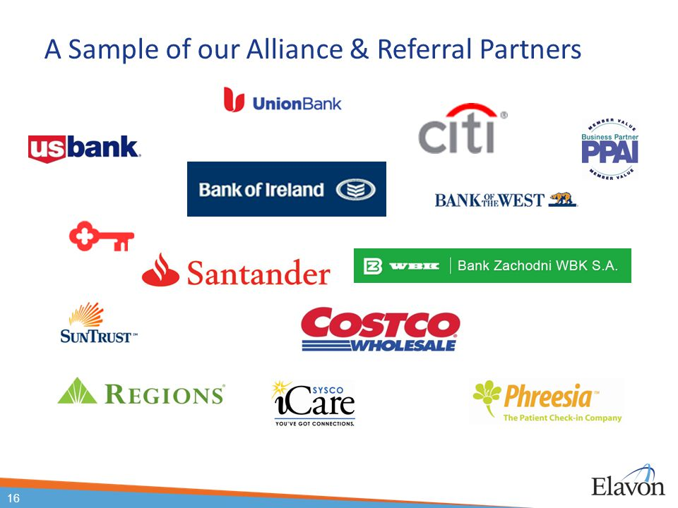 A Sample of our Alliance & Referral Partners