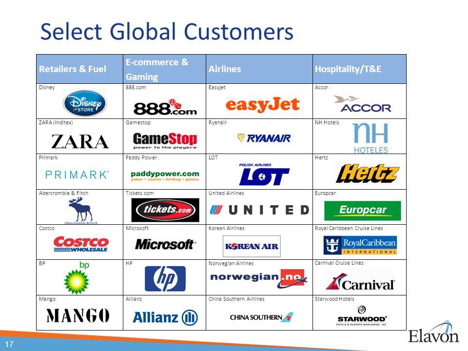 Select Global Customers