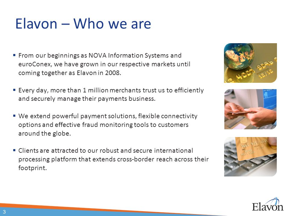 Elavon – Who we are