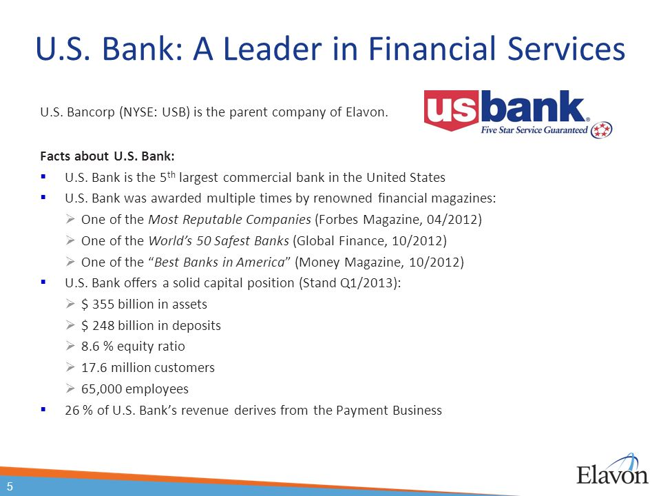 U.S. Bank: A Leader in Financial Services
