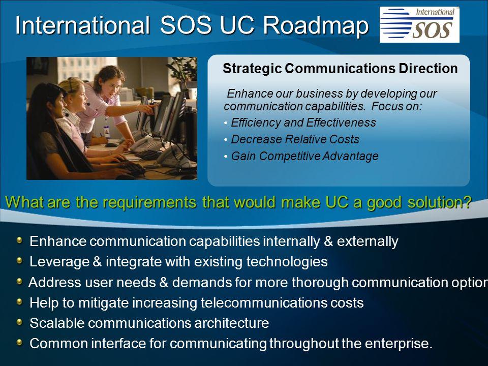 Strategic Communications Direction