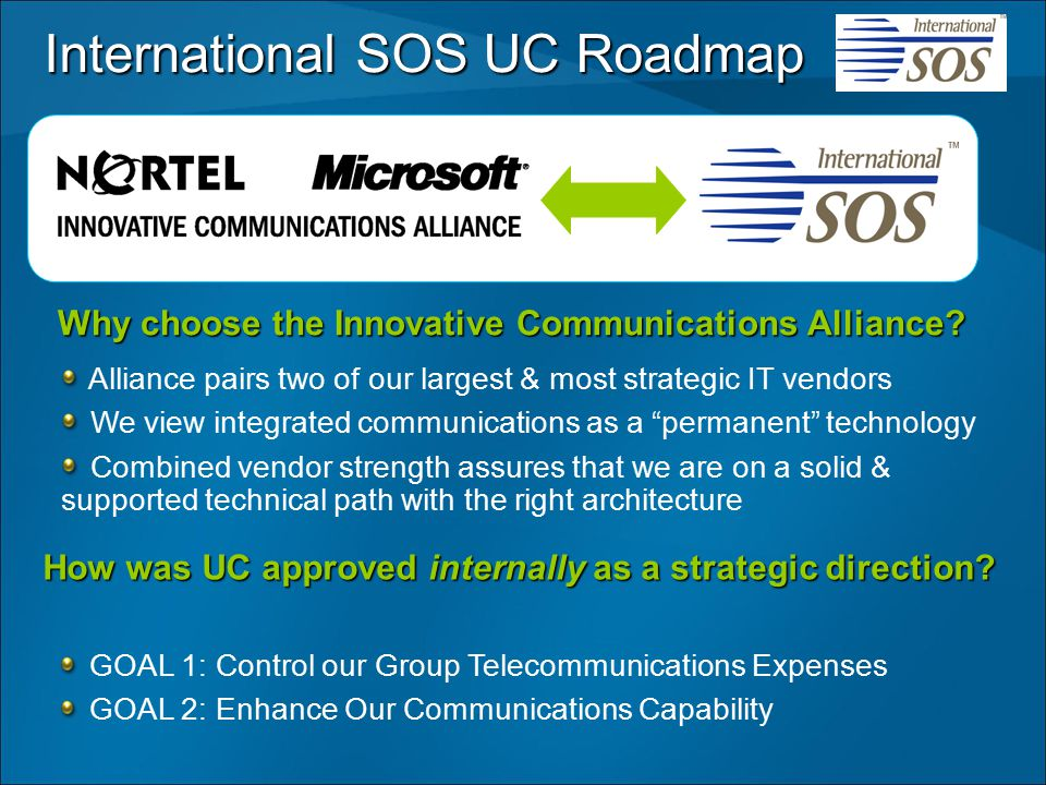 Why choose the Innovative Communications Alliance