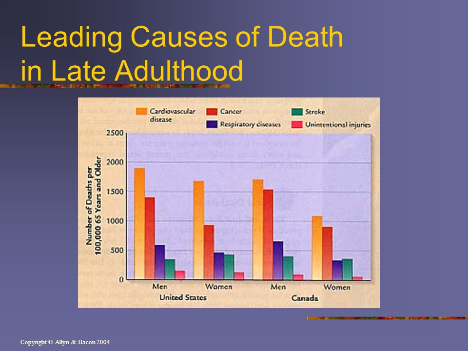 Leading Causes of Death in Late Adulthood