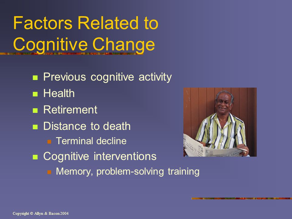 Factors Related to Cognitive Change
