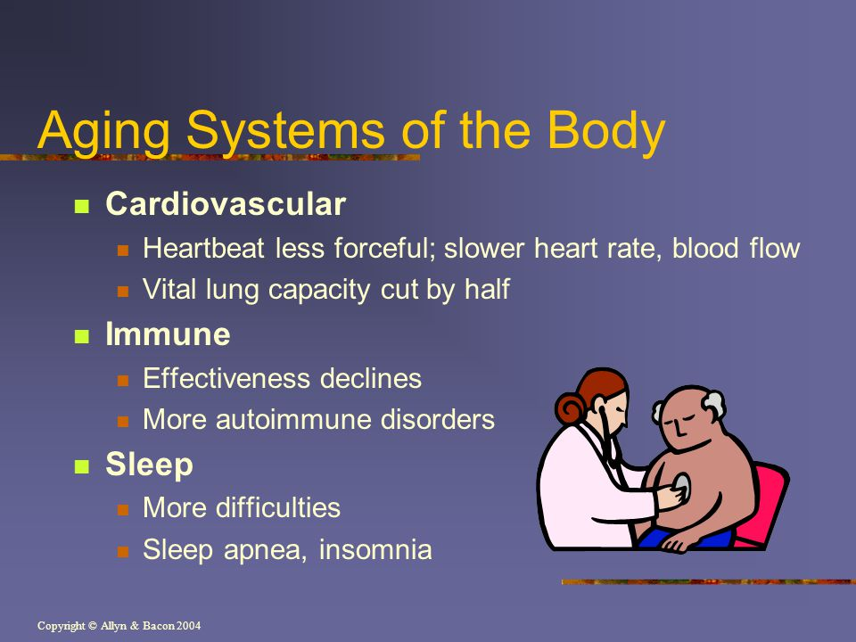 Aging Systems of the Body