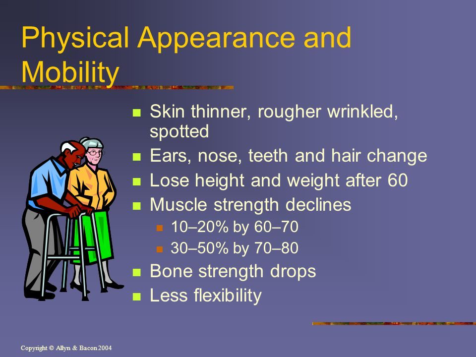Physical Appearance and Mobility