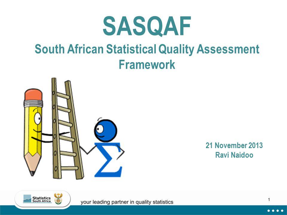 SASQAF South African Statistical Quality Assessment Framework
