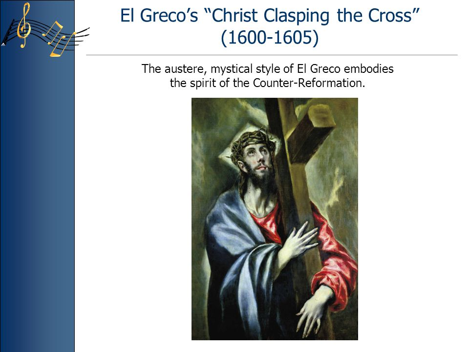 El Greco's Christ Clasping the Cross (1600-1605)