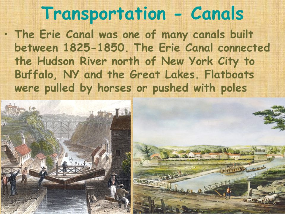 Transportation - Canals