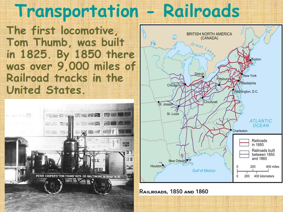 Transportation - Railroads